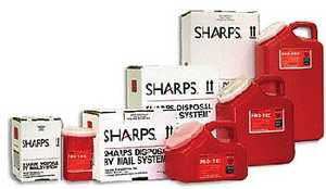 Sharps Disposal By Mail System