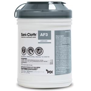 Sani-Cloth AF3 Germicidal Disposable Wipe Large 6