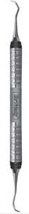 Gracey Curette 1/2 #7 Satin Steel Colours Handle (Hu Friedy)
