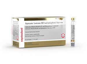 Septocaine Articaine Hydrochloride 4% and Epinephrine