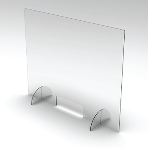 "Sneeze Guard Clear Acrylic Barrier 24""x32"""