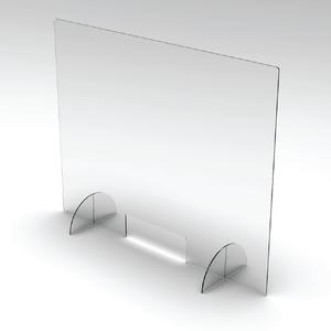 "Sneeze Guard Clear Acrylic Barrier 24""x32"""