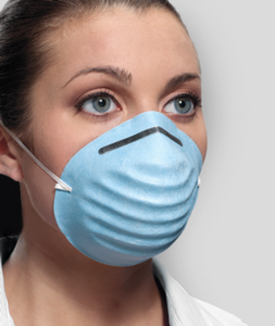 Mask Cone Molded Surgical (Crosstex)