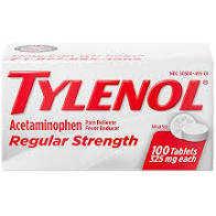 Tylenol Tablets 325mg 100/Bt