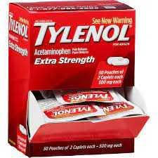 Tylenol Extra Strength 500mg  2/Pk (50)