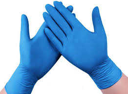 Nitrile Gloves Powder Free (100)