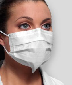 Mask Ultra Sensitive w/Secure Fit White