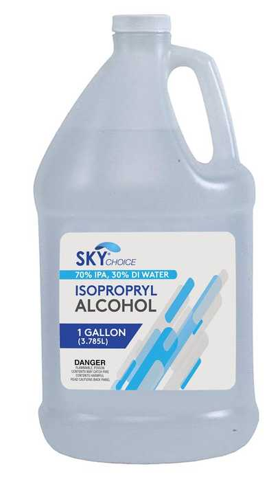 Alcohol 70% Isopropyl Rubbing 1 Gallon