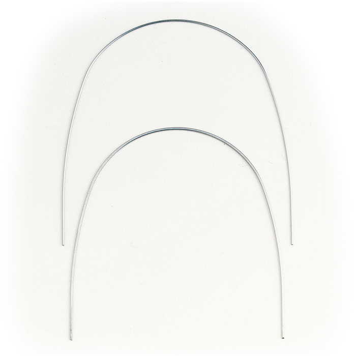 Archwire NiTi Thermal Natural Round Pack Of 10