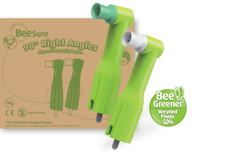 Beesure Biodegradable Prophy Angles