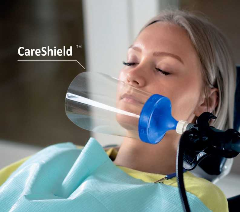 CareShield HVE suction